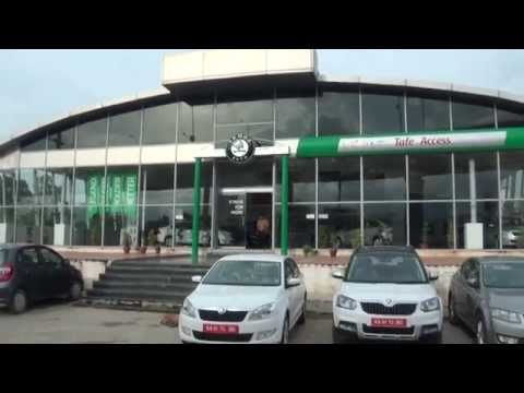 Skoda Showroom Bangalore - Tafe Access