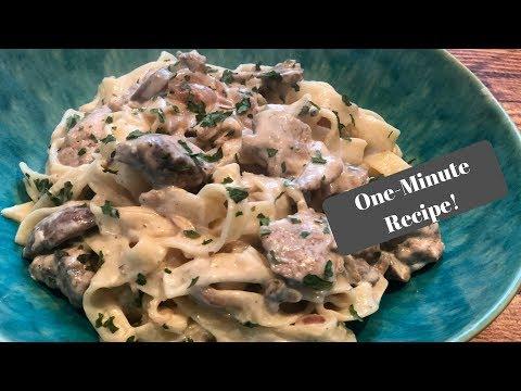 Slimming World Chicken & Mushroom Tagliatelle I One-Minute Recipe!