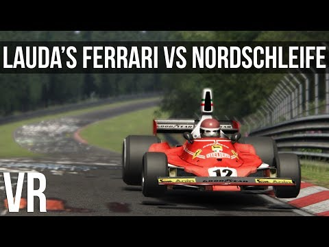 Assetto Corsa - What's It Like Driving Lauda's Ferrari At The Nordschleife
