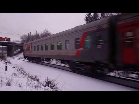 Поезд Киров-Луза