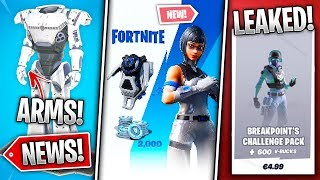 Secret Bundle Leaked + 2000 VBucks, Robot Arms, Breakpoint IN-GAME, 50v50 Return! - Fortnite News