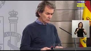 Desciende el número de muertes por Coronavirus en España