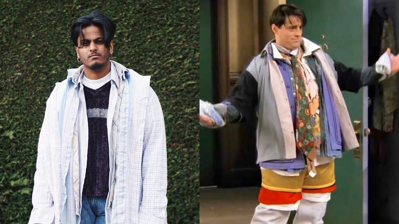 HOW TO DRESS LIKE JOEY & CHANDLER FROM FRIENDS FT  SANGIEV