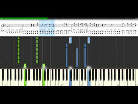 U2 - With Or Without You [Piano Tutorial] Synthesia