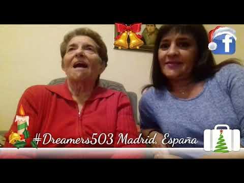 #Dreamers503 Saludo desde Madrid
