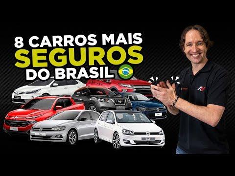 8 Carros mais SEGUROS do Brasil 2018 para quem valoriza Vida e Sade AutoVideos