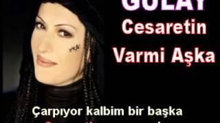 gülay cesaretin varmı aşka(karaoke )