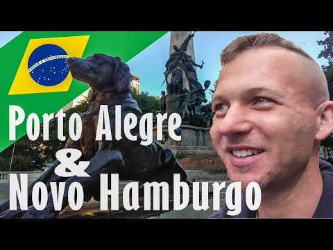 German Tourist explores Porto Alegre & Novo Hamburgo / Brazil Travel Vlog 2019