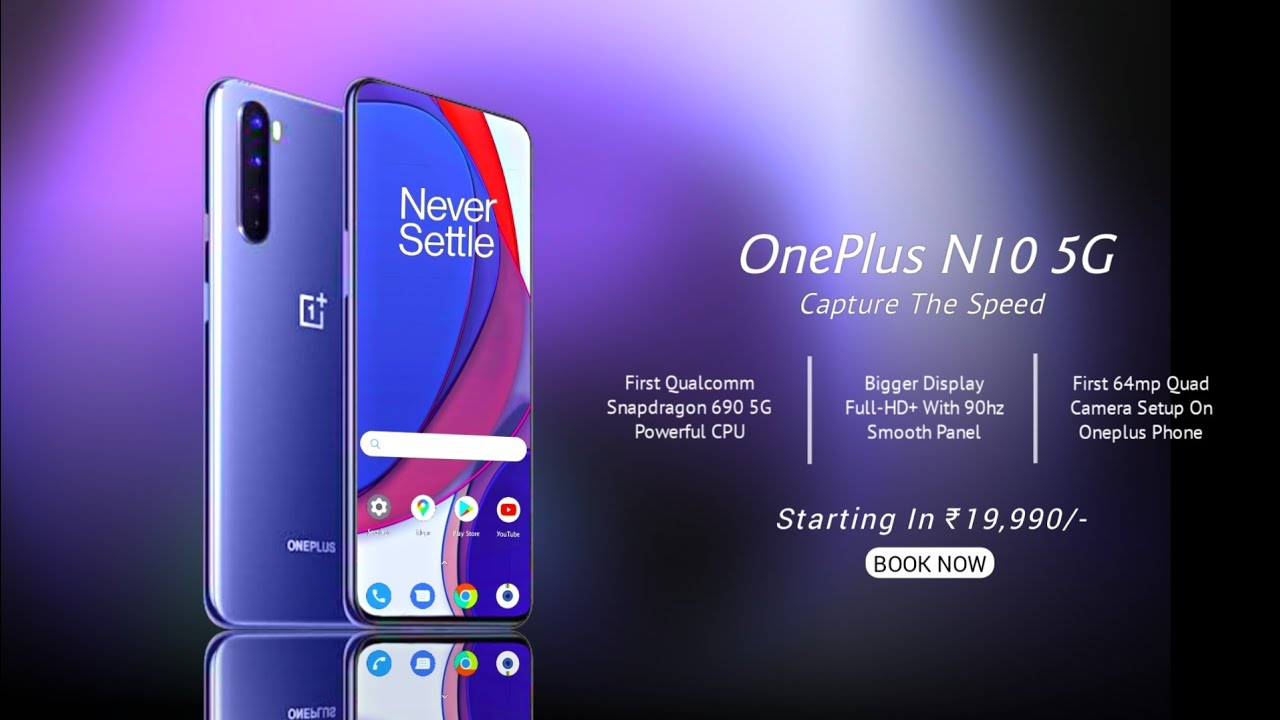 Oneplus Nord N10 5G - 90hz, 64MP Camera | IT'S COMING***