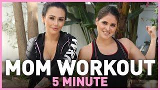 JWOWW's 5-Minute Mom Workout!