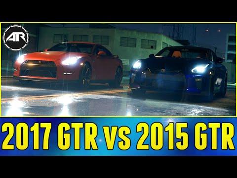 2017 Nissan Gtr Vs 2015 Nissan Gtr Challenge Need For Speed