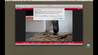 Sofortbild App - Tethering on Mac
