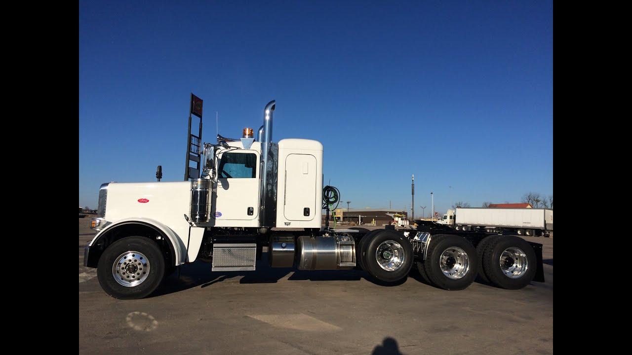 2015 Peterbilt 389 Heavy Haul 4 Axle 550 Cummins 18 Speed