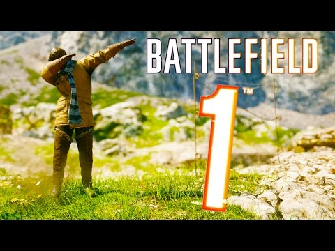 Thumbnail: Battlefield 1 - Random & Funny Moments #3 (Drifting? Funny Death Screams!)