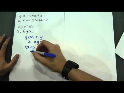 SPM Form 4 - Composite function and Inverse function