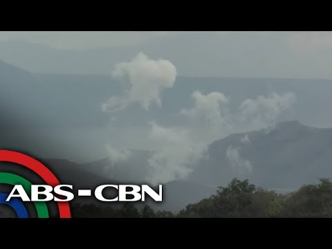 WATCH: Live Shot Of The Taal Volcano