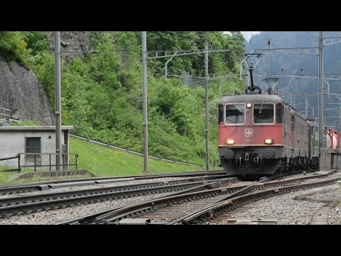 One Hour of Swiss Trains For Kids