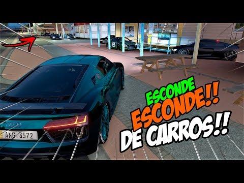 PEGANDO OS MENINOS TUDO!! KKK - ESCONDE ESCONDE DE CARROS  - FORZA HORIZON 3
