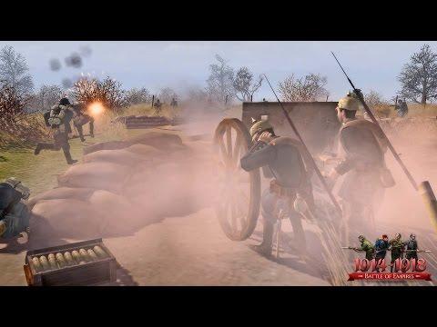 ОБОРОНА РУССКОГО ФОРТА в Эпичной Стратегии про Первую Мировую Войну ! Battle of Empires Ч.2