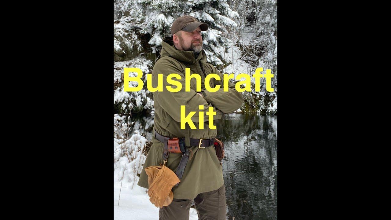 Základní Bushcraft sestava na opasku