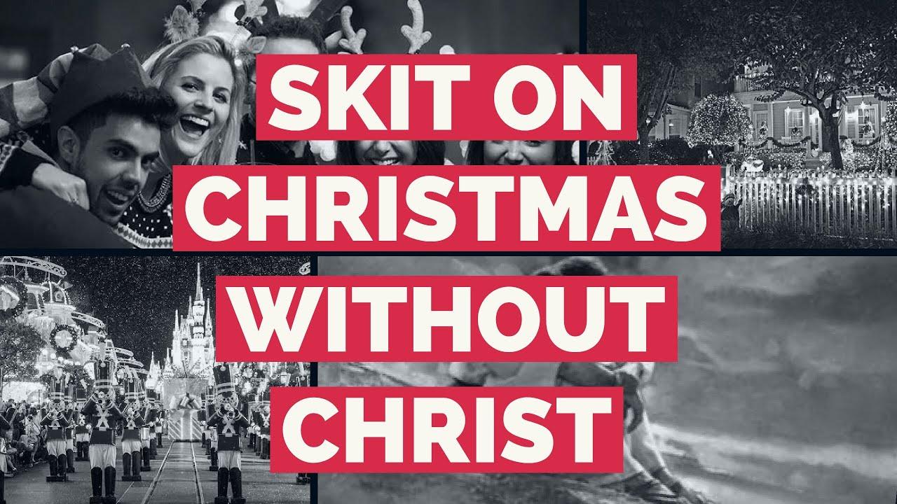 Latest new telugu christian christmas skit 2018-2019 | Christmas without christ | Real christmas