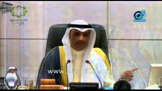 مجلس2013 يوافق على شطب محاور إستجواب العدساني | رياض: أرفض صعود المنصة | رئيس الوزراء: شكراً