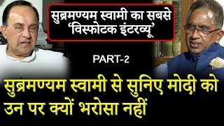 BJP Leader | Subramanian Swamy Exclusive Interview with Vijai Trivedi | Part-2
