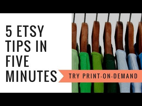 Printful Tutorial for Etsy - Use Print on Demand for your Etsy shop - Etsy shipping