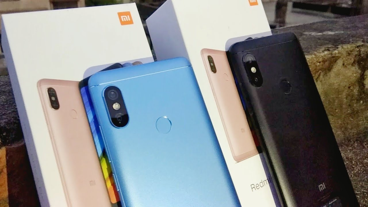 Blue Vs Black Redmi Note 5 Pro Colour Comparison Which Color