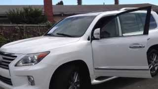 2013 Lexus Lx570.Куплен В Штате Калифорния, Сша Для Клиента Из Кыргызстана.