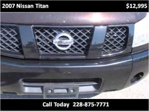 2007 Nissan Titan Used Cars Ocean Springs MS