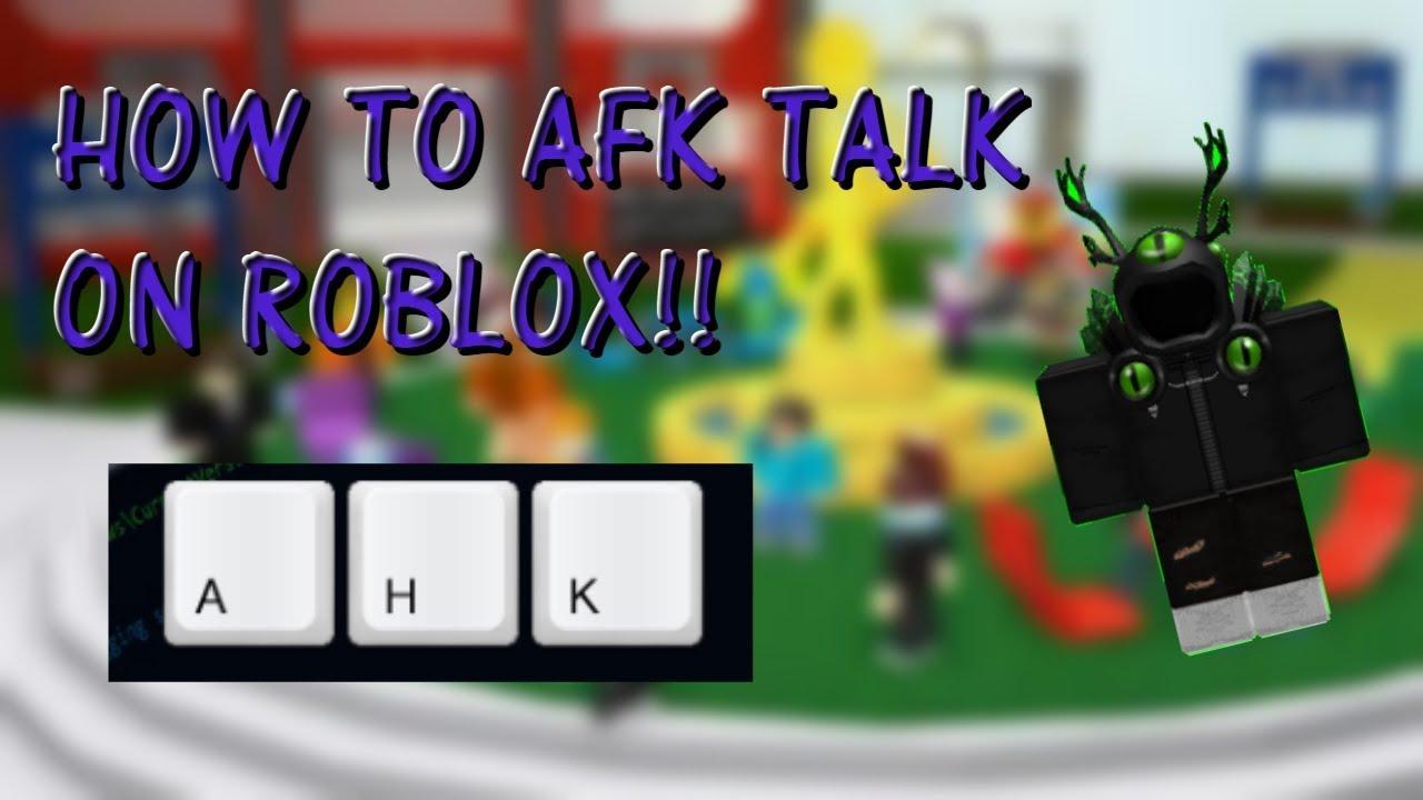 Roblox afk chat bot