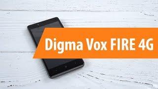 распаковка смартфона Digma Vox FIRE 4G / Unboxing Digma Vox FIRE 4G