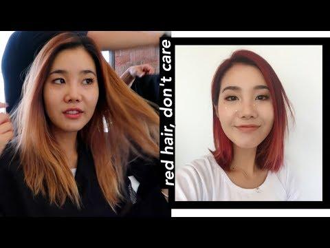 Hair Transformation: Bleach, Dye, & Cut 💇🏻