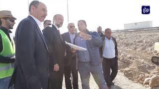 رئيس الوزراء يتفقد سير العمل في صيانة جسور البحر الميت (22/12/2019)