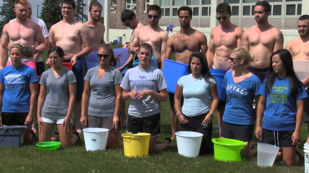 College for physical therapy - Ub Physical Therapy Class Of 2015 Takes On The Ice Bucket Challenge