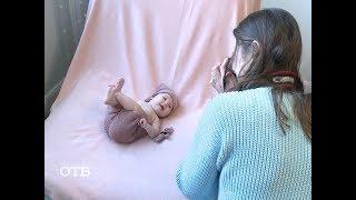 Новогодняя фотосессия малыша