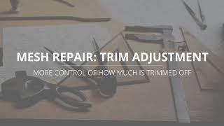 LutraCAD - Tutorial - Mesh Repair Change Trim Height