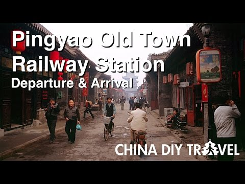 Pingyao Old Town Railway Station Guide - departure and arrival
