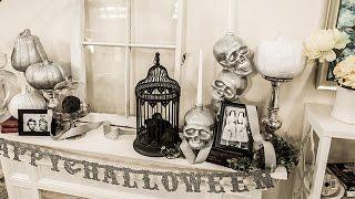 How To - Ken Wingard's Spooky & Sophisticated Halloween Mantle - Hallmark Channel