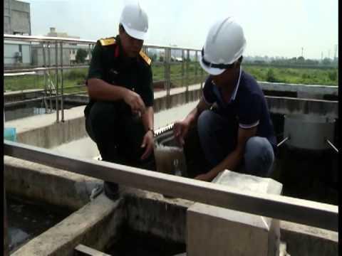 Nano Zero-valent Iron for wastwater treatment in Vietnam