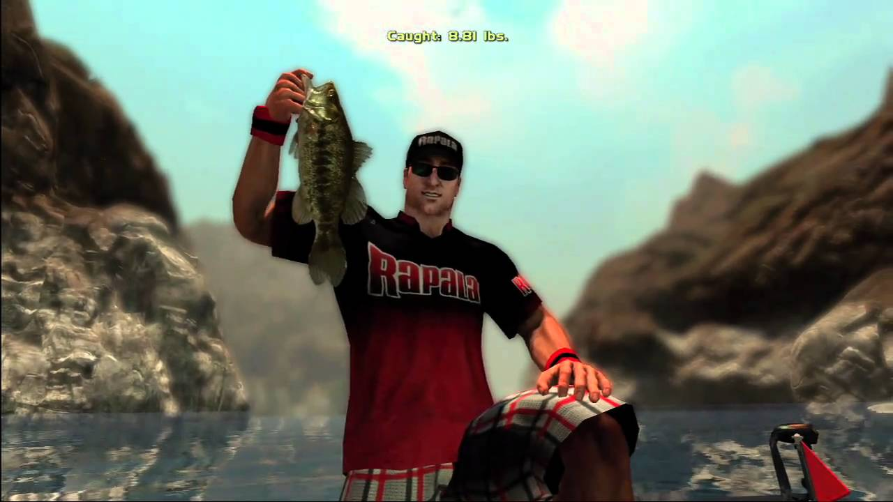 Rapala pro bass fishing reveal trailer ds ps3 psp for Professional bass fishing