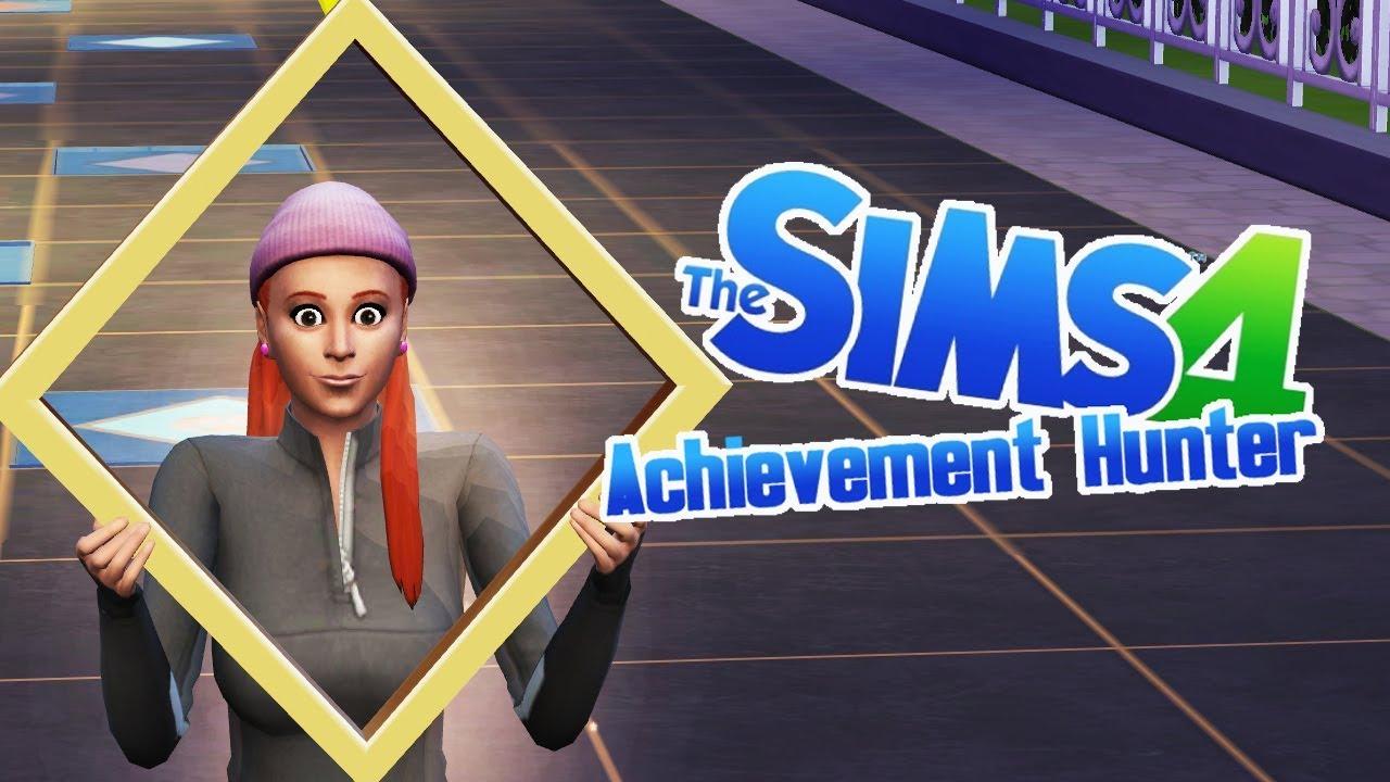 WALK OF FAME - 52 - Achievement Hunter (Sims 4 Get Famous)