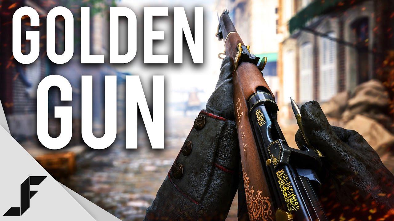 GOLDEN GUN - Battlefield 1
