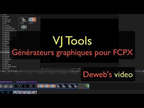 VJ Tools, générateurs graphiques pour FCPX