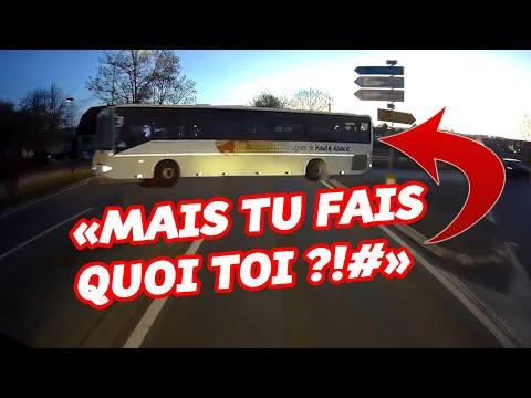 BUS VS CAMION - ÇA TOURNE ENCORE MAL ? - TRUCK DASHCAM FRANCE ! 2020 #10