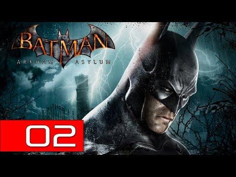 Batman: Arkham Asylum PC (Hard) 100% Walkthrough 02 (Rescue Commissioner Gordon)