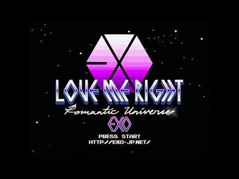 EXO / 「Love Me Right ~romantic universe~」teaser
