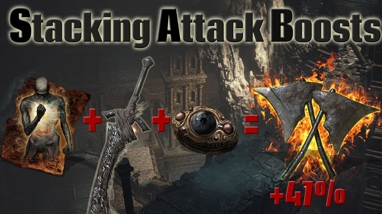 Souls Tech - Stacking Attack boosting effects