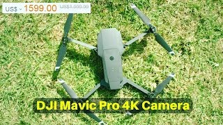 DJI Mavic Pro 4K Drone Camera !!! FPV With 3Axis Gimbal Obstacle Avoidance RC Drone Quadcopter !!!